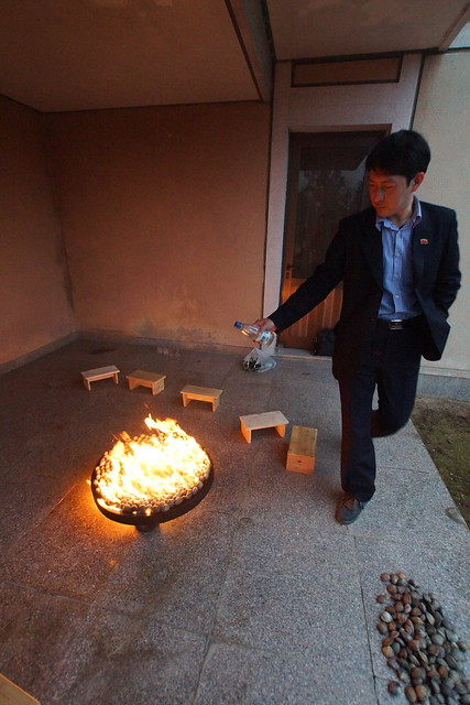 North Korean Petrol Gas Clam BBQ