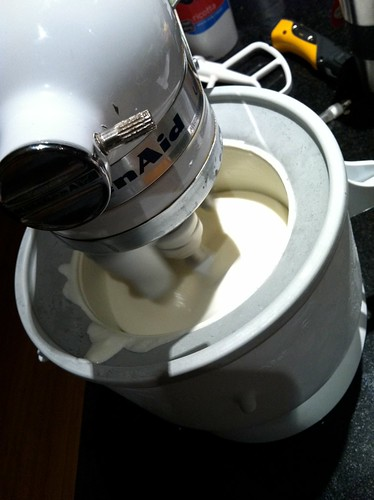 Churning the Ice Cream
