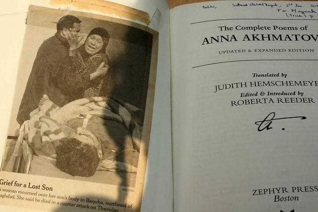 Delhi's Bandaged Moments – Anna Akhmatova, Tihar Jail