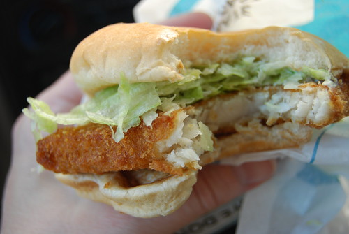 Friday s fast food fishtacular jack in the box new fish for Fish sandwich fast food