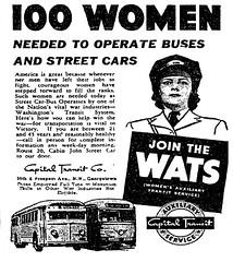 100 Women Operators Needed: 1943