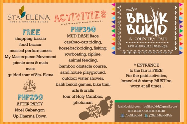 activitiesbalikbukid