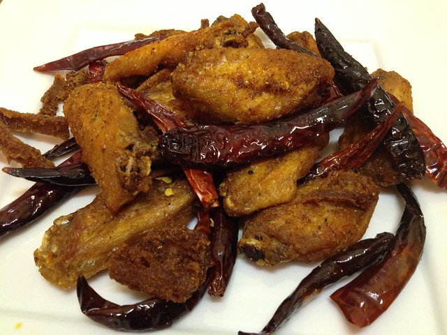 Chonqing chicken wings - Mission Chinese Food