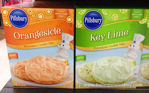 Pillsbury Orangesicle & Key Lime Cookie Mix
