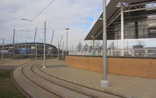 Etihad Stadium and ASDA