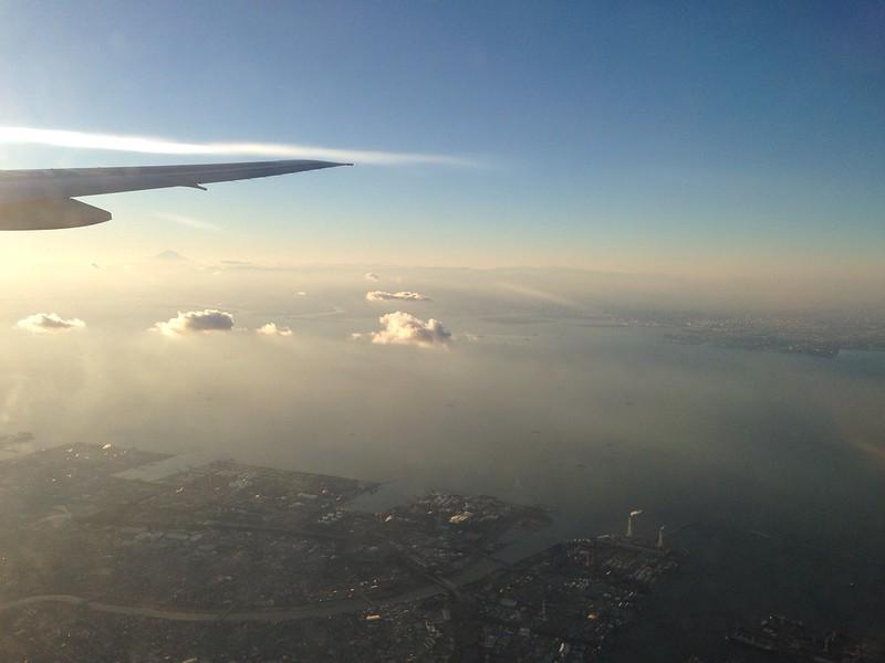 Sunset Flight with ANA