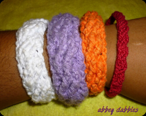 Sascha Cabled Bangles by Abbey Dabbles