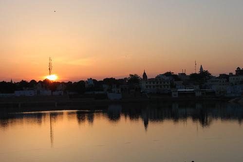 IMG_0743-Pushkar-sunset