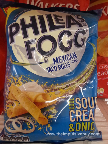 Phileas Fogg Cool Sour Cream & Onion Mexican Style Taco Rolls