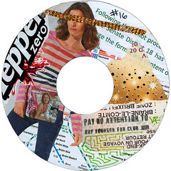 Ray Johnson Fan Club sticker #16