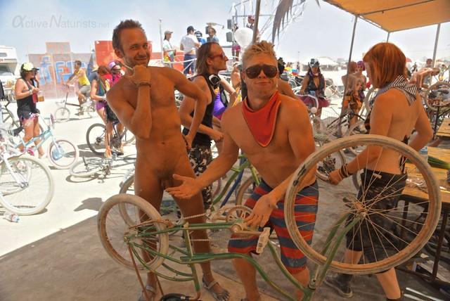 naturist 0003 Burning Man 2012, Black Rock City, NV, USA