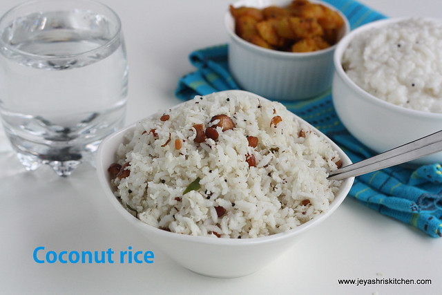 Coconut rice 1