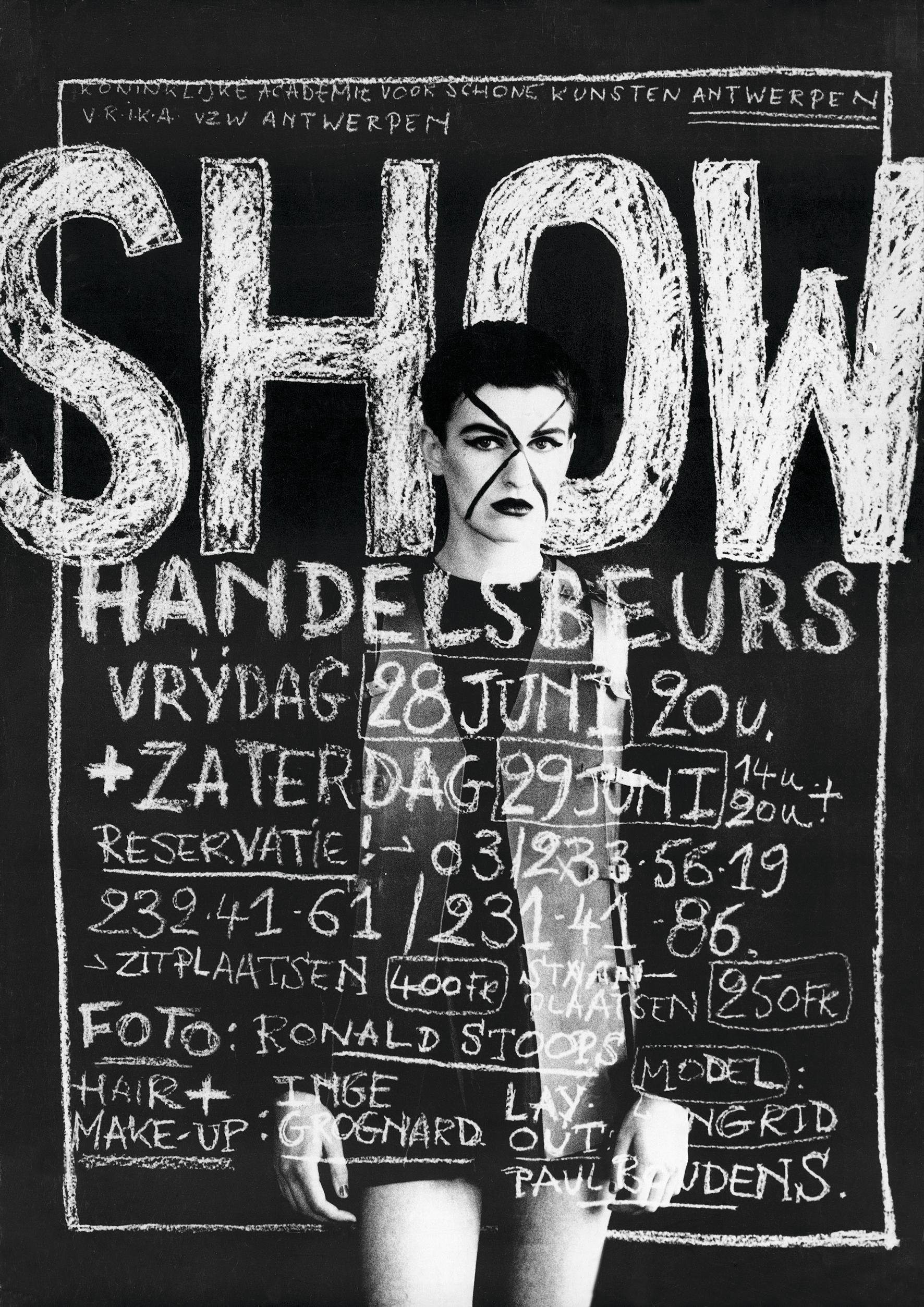 1991 ModeAcademie Show Poster