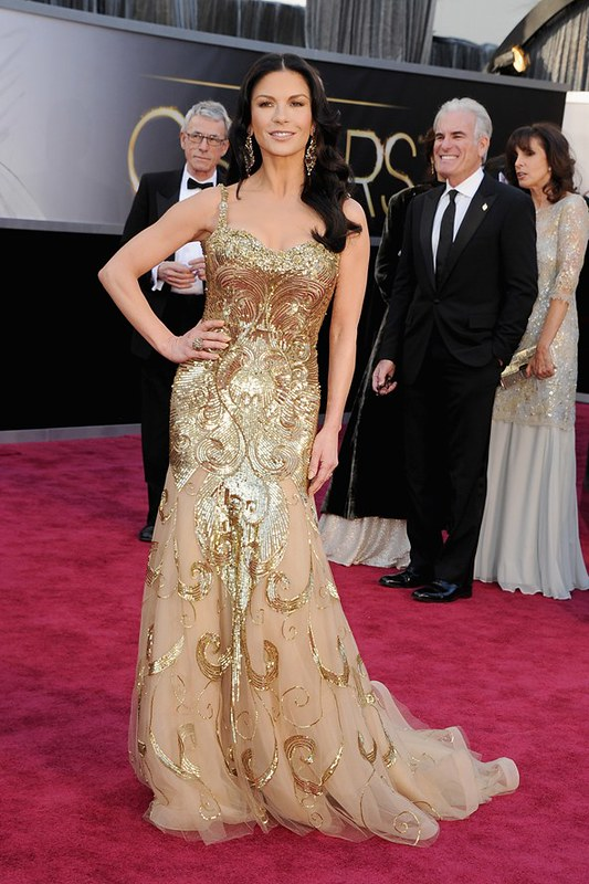 Catherine Zeta Jones in Zuhair Murad