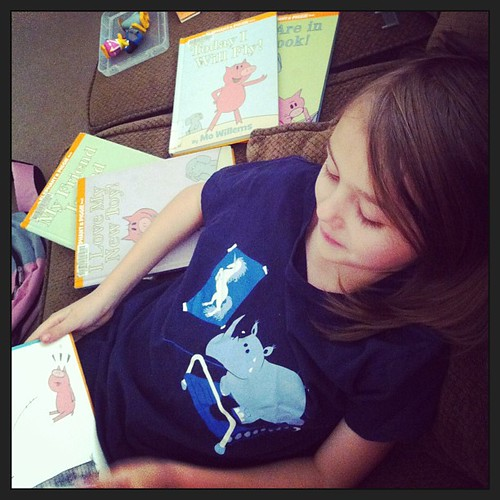 Mo Willems story hour.