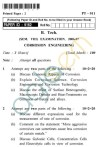 UPTU B.Tech Question Papers -PT-011 - Corrosion Engineering