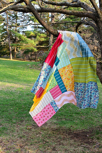 Voile Quilt Top