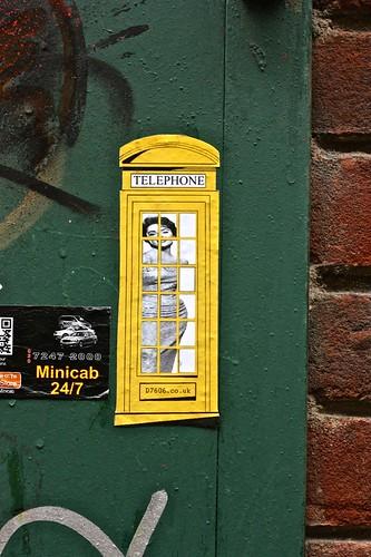 Yellow Phone Box