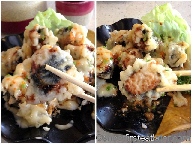 Omakase - seafood dumpling P160-001