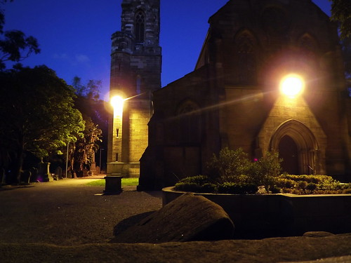 St Stephen's at night