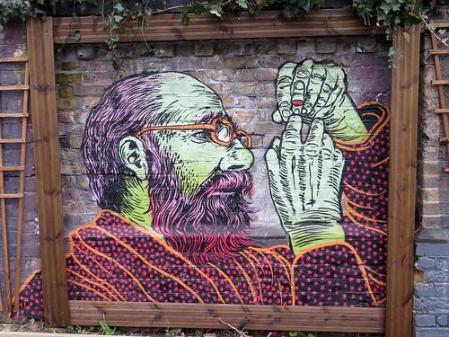 Street Art by Broken Fingaz, Hackney Wick - February 2013