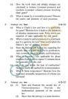 UPTU: B.Tech Question Papers -BT-405 - Thermodynamics Of Chemical & Biological Systems