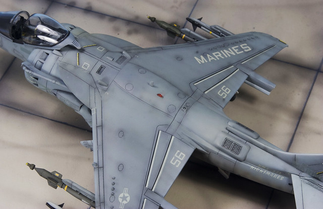 Harrier II detail from above