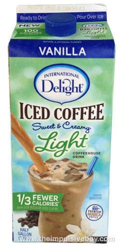 International Delight Vanilla Iced Coffee Light