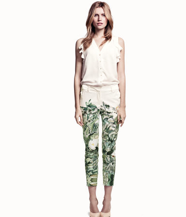 panties green