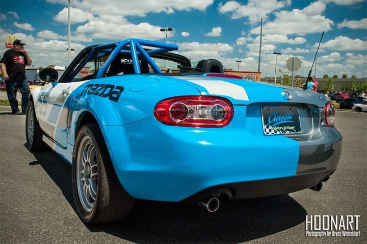 Classic Miata half race car