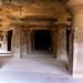 Pillars in Elephanta Caves