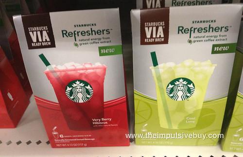 Starbucks VIA Refreshers