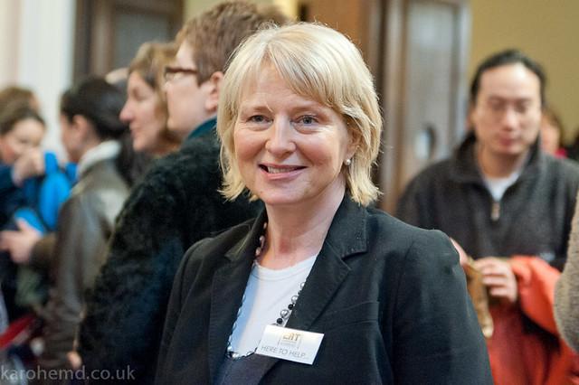 Caroline Biggs of the organising committee
