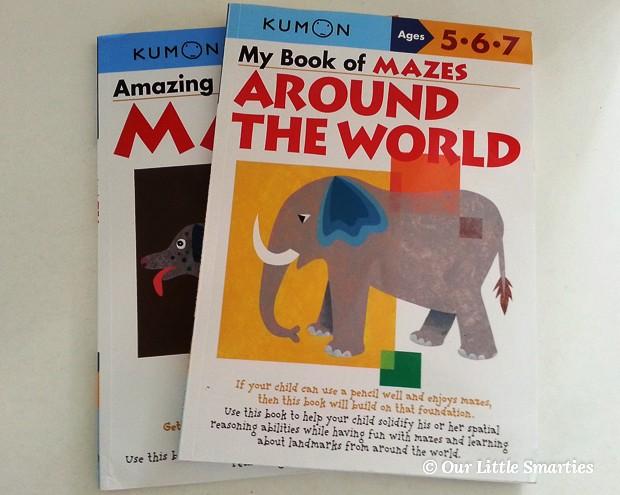 Kumon Maze Books