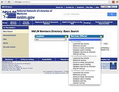 Find a Librarian: National Network of Libraries of Medicine