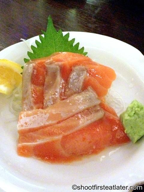 salmon sashimi P450