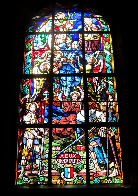 WWI Stained Glass