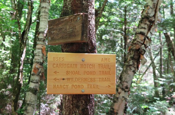 Desolation Trail Bottom Sign