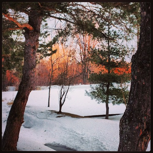 Feb 19 - I am ... {always in awe of a daily beautiful sunrise} #fmsphotoaday #sunrise #princeedwardcounty