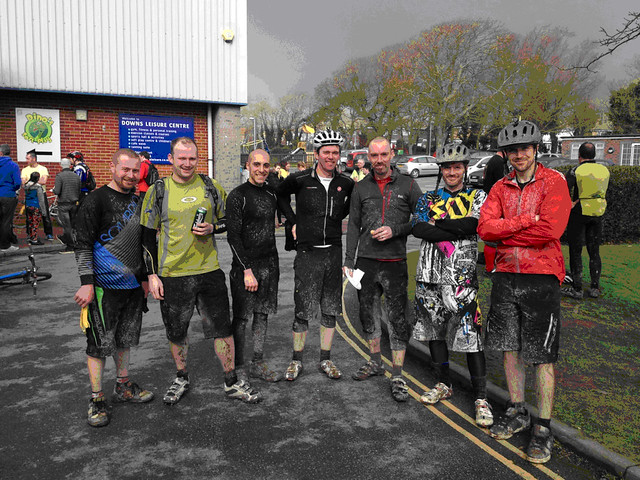 Muddy@rse and the Cystic Fibrosis Trust Charity Race from Ditchling Beacon to Seaford 2013 (5/5)