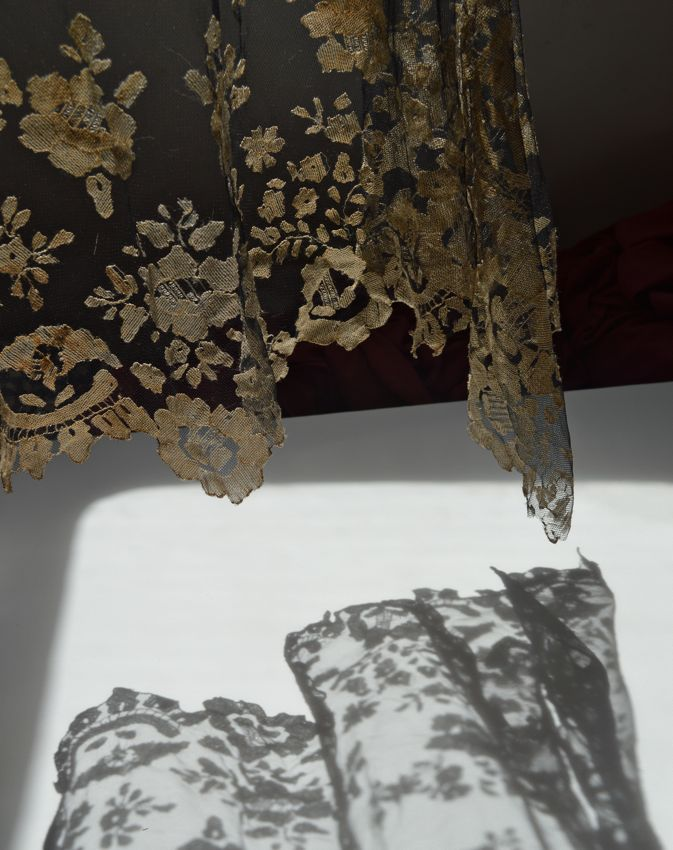 shadow of lace