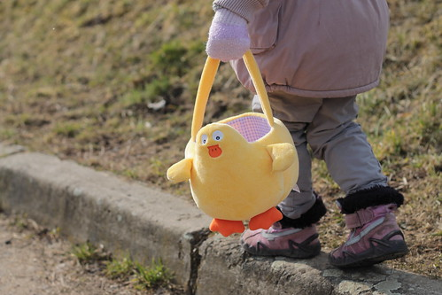 Off to get some eggs