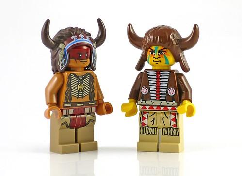 The Lone Ranger 79107 Comanche Camp figs12