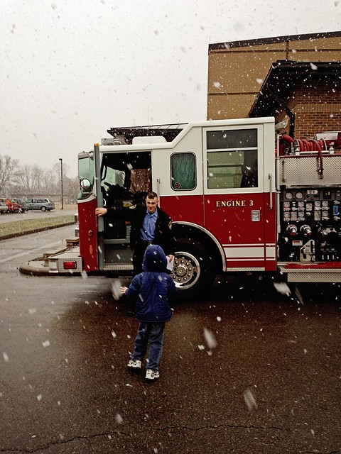 A Firefighter's Son