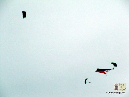Philippine Flag Skydiving