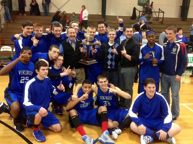 Vandalia Varsity Boys Basketball Championship