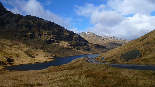 Rest and be Thankful, Loch Restil