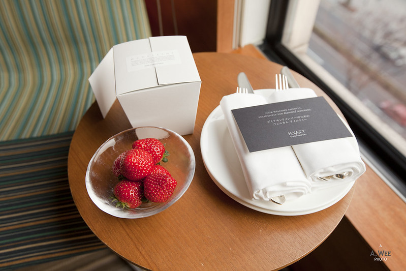 Welcome Amenity of Strawberries