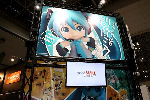 GSC Booth at Tokyo International Anime Fair 2013
