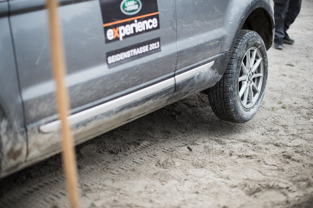 Land Rover Experience Tour End Qualification